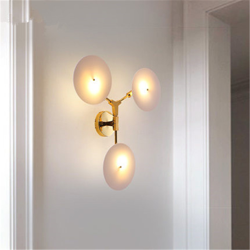 Modern LED Wall Lamp Bedside Wall Sconce Nordic Lustres Bathroom Corridor Aisle luminaire Wall Light Fixtures цены
