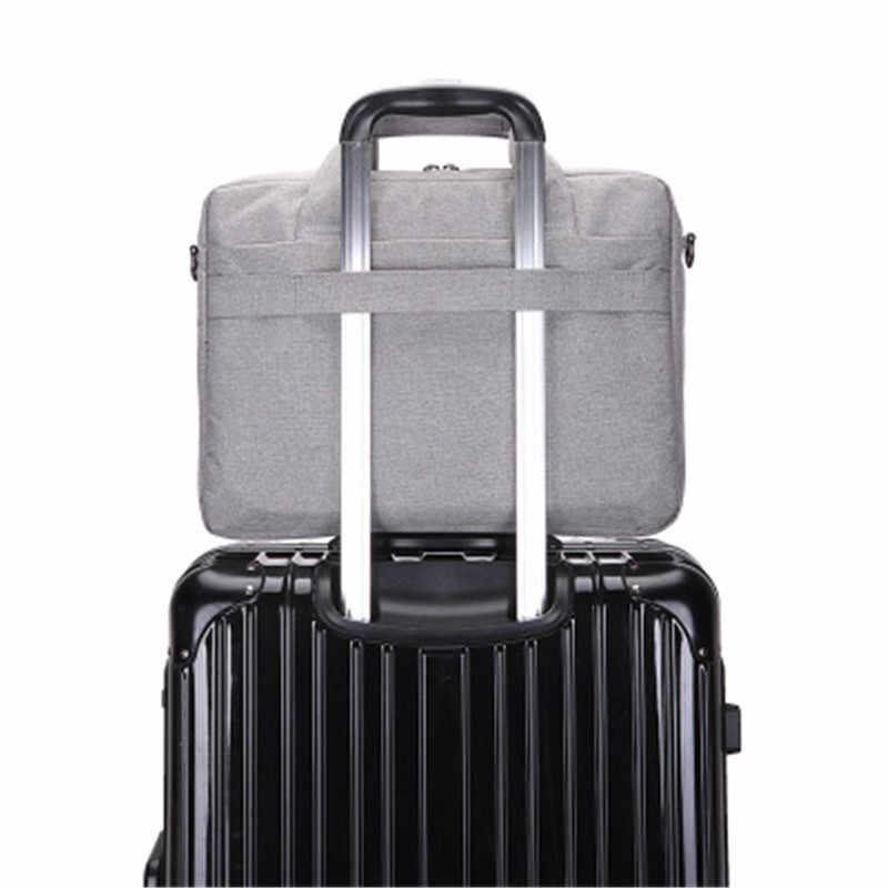 6b8911872345 ... Litthing Large Capacity Laptop Handbag for Men Women Travel Briefcase  Bussiness Notebook Bag for 14 15