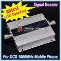 Pantalla LCD! 1800 MHz DCS Teléfono Móvil Amplificador de Señal, DCS 1800 MHz Repetidor de la Señal, Teléfono celular Amplificador + Adaptador de Corriente
