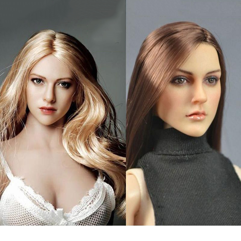 1/6 scale Head Model KT004/005/006/007/0 Princess Kate Female Head sculpt Model Toys For 12 Action Figure Doll toys gift 1 6 scale figure accessories doll female head for 12 action figure doll head shape fit phicne
