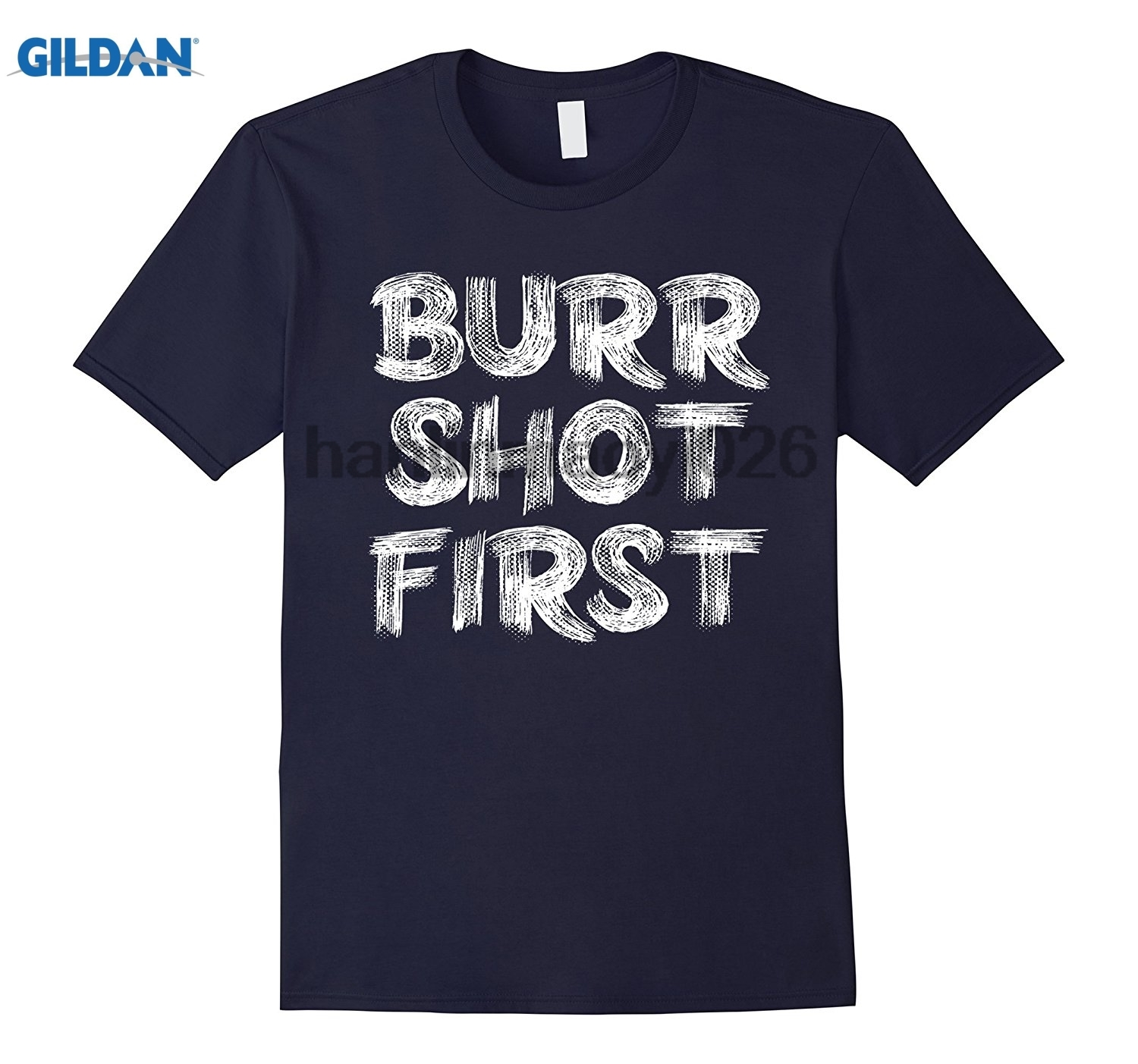 GILDAN Burr Shot First Alexander Fan T-Shirt