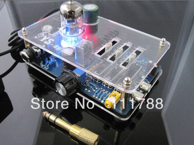 Tube 6N11 headphone amplifier Pre AMP with TONE switch appj pa1502a tube headphone amplifier