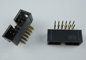 Connectors 1000 Pcs Shrouded Box Header Idc Socket 2.54mm 2x6 Pin 12 P Right Angle Male Square Pin 0.64mm 2 Rows 2.54 Through Hole Dip To Help Digest Greasy Food Lighting Accessories