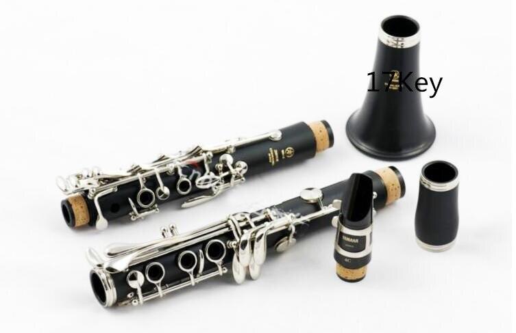 Japonais instruments de musique YCL-250 B clarinette plat de qualité professionnelle 17 key musique Professionnel performance