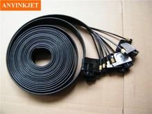 16 UV square small damper + screw oring 10 meter 8 line ink tube 3x2mm For Epson R1800/1900/1390/2400/1100 etc Printers