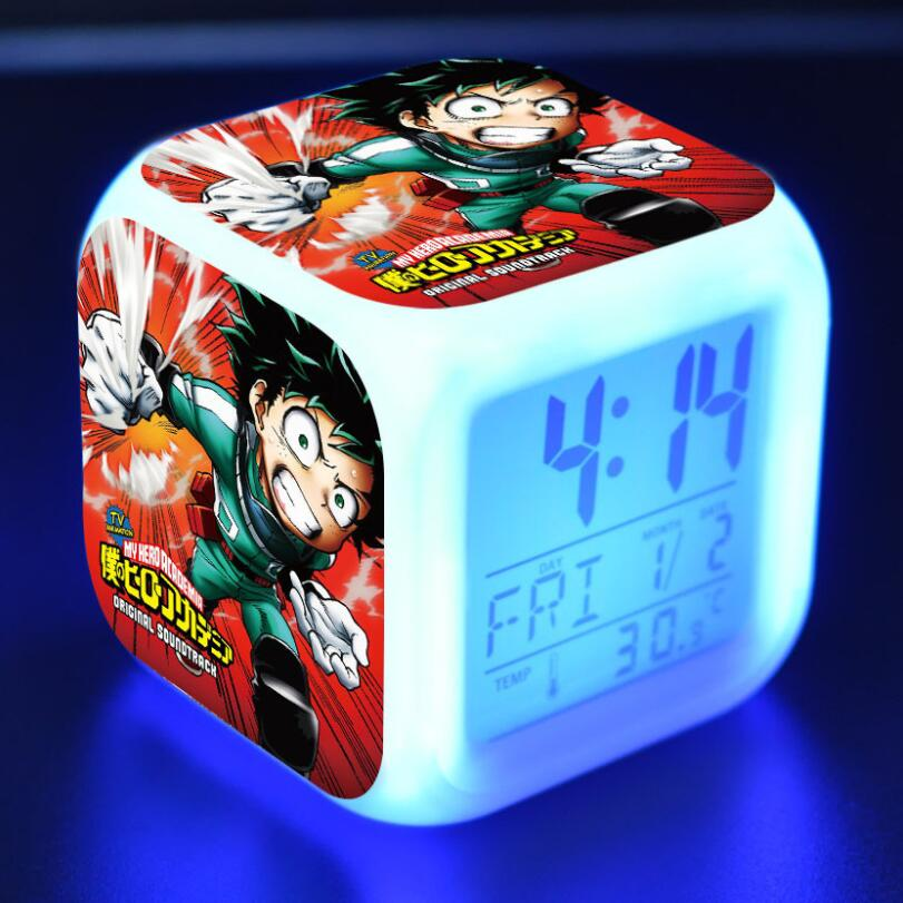 Light Alarm My Hero Academia