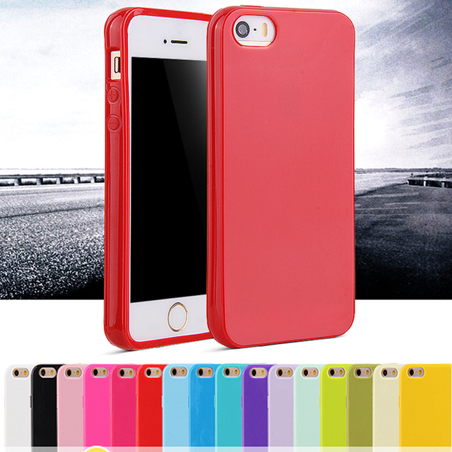 For iphone 4 4S Case Fashion Candy Shockproof Coque for Apple iphone 4 Case Soft Jelly TPU Silicone Cell Phone Protective Cover