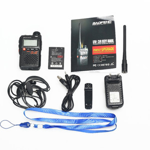 Image 5 - 2 PCS Baofeng UV 3R Mini Walkie Talkie CB Ham VHF UHF Radio Station Transceiver Boafeng Dual Double Band Amador Woki Toki PTT