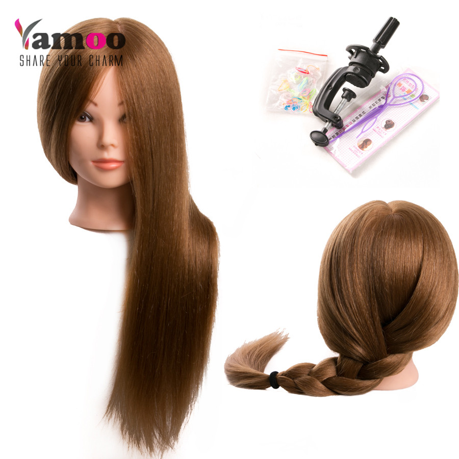 professional hair styling head for salon 60 real human hair hairdressing 7893 | Training Head For Salon 60 real Human Hair Hairdressing Mannequin Dolls hairstyles professional styling head can