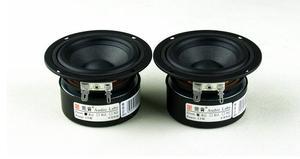 Image 2 - 2 adet 3 inç 4 ohm 15 W tam aralıklı hoparlör Subwoofer Tweeter HIFI hoparlör kutusu DIY