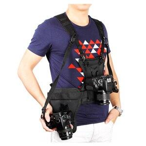 Image 3 - Carrier II Dual 2 กล้องสายรัดอกเสื้อกั๊กระบบQuick Strapด้านข้างสำหรับCanon Nikon Sony pentax DSLR
