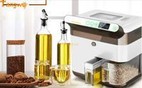 Oil Press Lady Household Automatic Small Commercial Intelligent Multifunctional Cold Press Machine Fried Oil Shipping