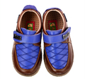 Brand Spring/Autumn Diamond Cow Genuine Leather Walker Wearproof/Not-slip Toddler Soft Soled Shoes For Boys/Baby/Infant