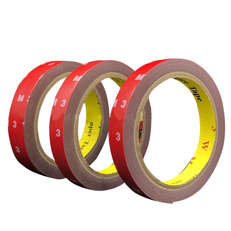 3M Automotive Acrylic Foam Double side Adhesive Tape// 10mm 15mm 20mm 48mm