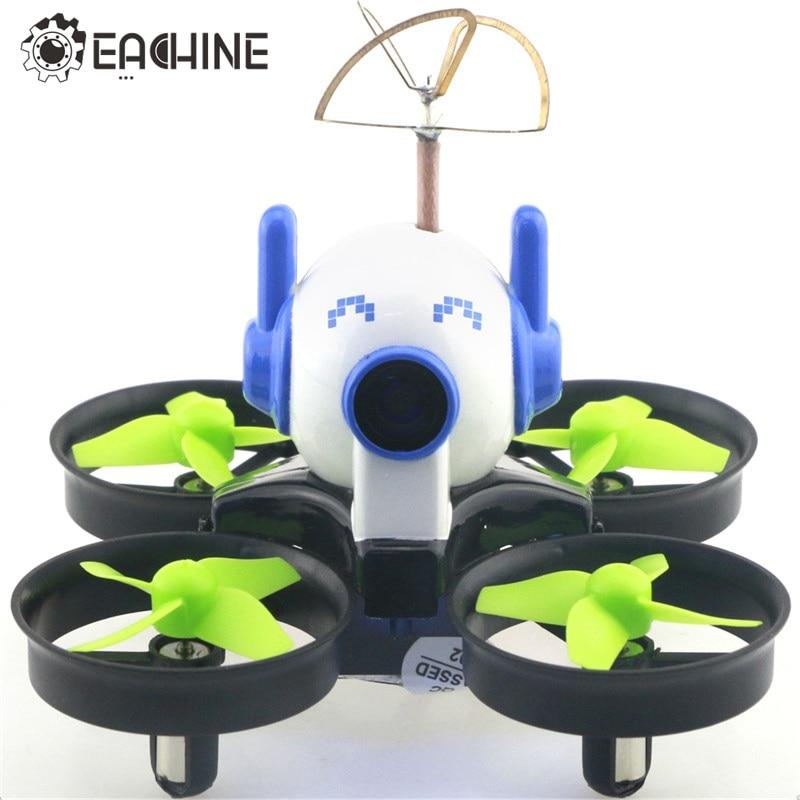 Eachine E010C Micro FPV Racing Quadcopter With 800TVL 40CH 25MW CMOS Camera 45C Battery w/ Mount Cap VS JJRC H36 E010 RC Drone eachine tx01s ntsc 5 8g 40ch 25mw vtx 600tvl 1 3 cmos mini camera for eachine e010 e010s rc quadcopter fpv racer