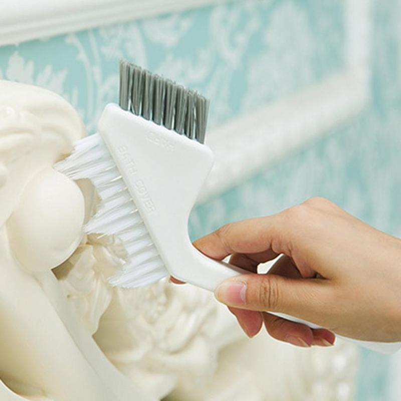 1pc Useful Bath Room Tile Brush Crevice Brush Floor Brush Cleaning Brush Kitchen Except Dirt Household Necessities Cleaning Tool