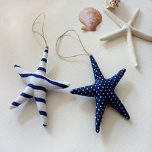 Marine Theme Starfish Fabric DIY Crafts Accessories Hangings Hand Made Craft Pastoral Style Home Decoration