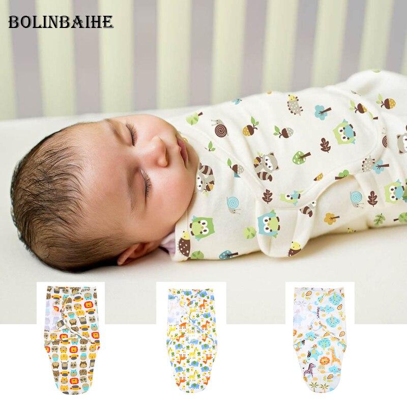 2018 Nouveau-Né bébé swaddle wrap parisarc 100% coton doux infantile produits bébé nouveau-né Couverture et L'emmaillotage Wrap Couverture Sleepsack