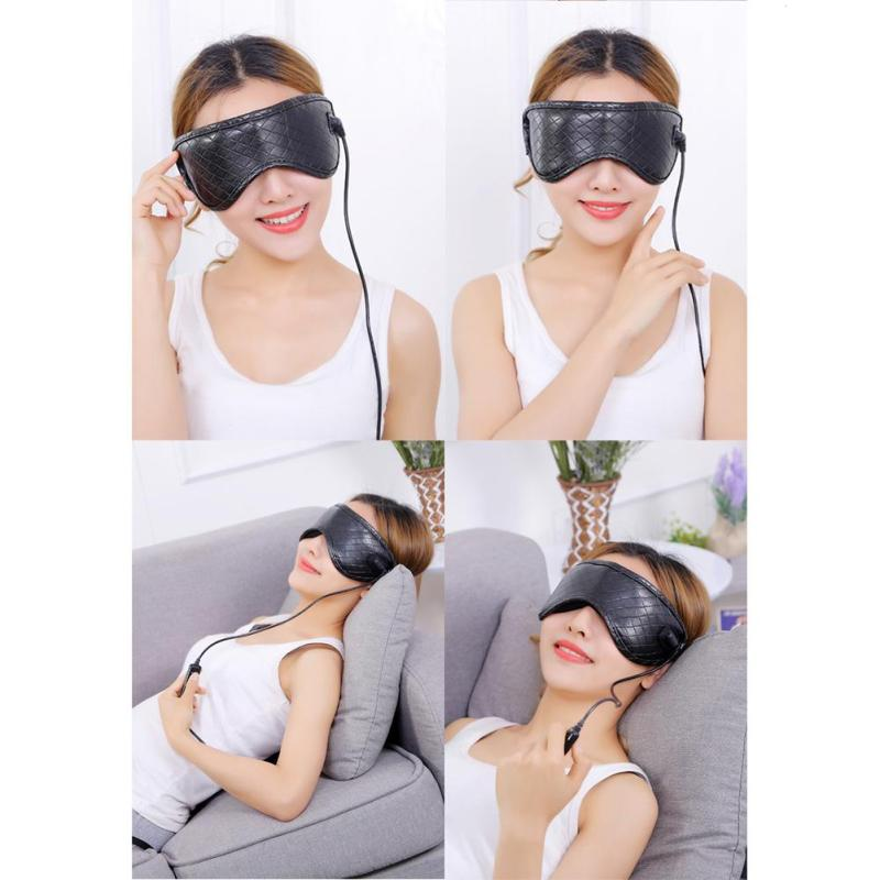 Lavender Eye Mask Massager Steam Blindfold Anti Wrinkle Fatigue Relieve Cotton Travel Sleeping Aid Eye Massage L3 In Massage Relaxation From Beauty