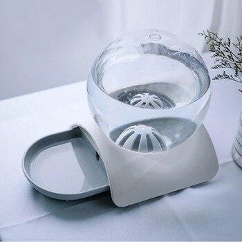 Pet Alimentatore Automatico Di Acqua Di Grande Capacità A Forma Di Palla Distributore Di Acqua Pet Pratico Di Alimentazione Di Acqua Contenitore