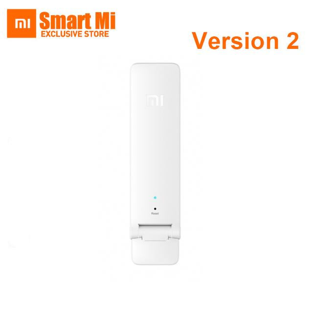 Atualizar nova versão dois amplificador de xiaomi 2 mi wi-fi repeater2 extensor expansor de sinal portátil mini router wi-fi usb fonte de alimentação