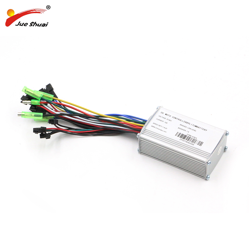 DC48V 36V 14A/20A Electric Bike Controller LCD/LED Controls 250W/350W/500W DC Motor Brushless controller for Free Shipping