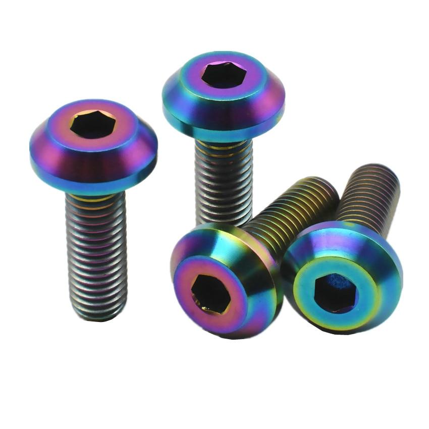 4pcs M3 resin plastic nylon head allen screws hex socket brake screw bolt BLACK