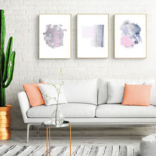 Canvas Painting Nordic Prints Home Decoration Abstract Oil Wall Art Pictures Watercolor Creative Poster For Living Room Modular(China)