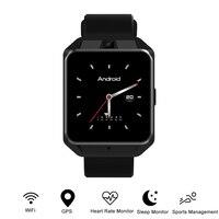 Microwear H5 4G Smartwatch Phone 1.54 inch MTK6737 Quad Core 1G RAM 8G ROM GPS WiFi Heart Rate / Sleep Monitor Video Call