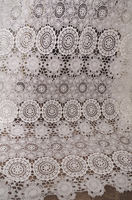Off White Cotton Guipure Lace Fabric Cotton Lace Fabric Chic Bridal Lace Fabric Lace Fabric Bridal