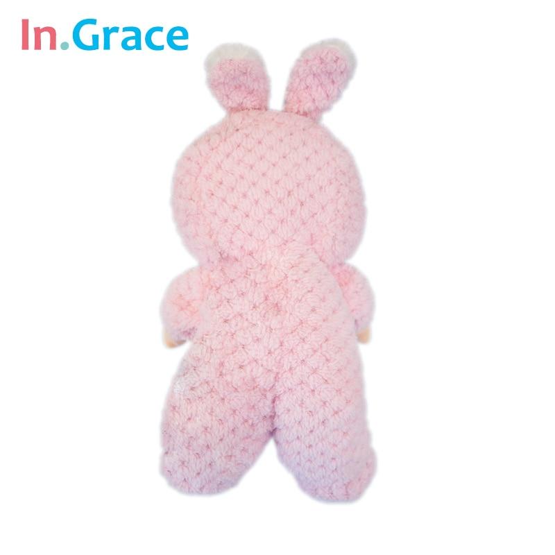 In.Grace супер сүйкімді қызғылт қоян baby - Қуыршақтар мен керек-жарақтар - фото 3