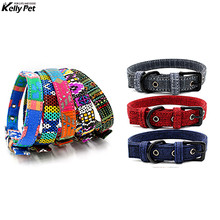 Dog Bohemian Collar Nylon Soft Colorful Pet Adjustable Puppy For Small Medium Dogs Neck Strap Kitten Cats Colla
