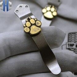 Klips kieszonkowy ze stali przeciwpożarowej ZT klips kieszonkowy ze stopu tytanu