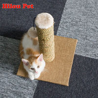 Natural Seaweed Cat Tree Climbing Toys Scratching Post Claws Pet Scratcher Furniture for Cats