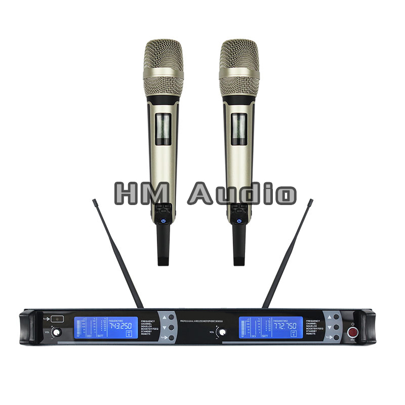 New High Quality Professional UHF SKM9000 Handheld Wireless Microphone professional lavalier clip microphone headset