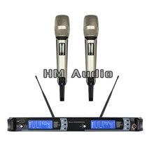 Neue Hohe Qualität Professionelle UHF SKM9000 Handheld Wireless Mikrofon professionelle lavalier clip-mikrofon headset