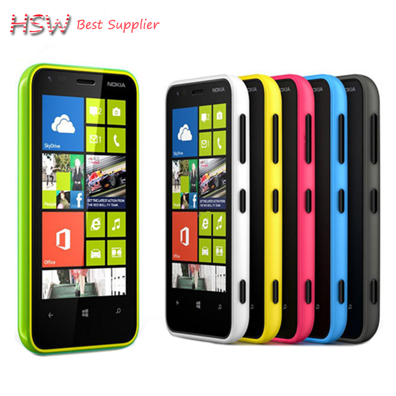 original Direct Selling Unlocked original Nokia Lumia 620 Windows cell Phone 8 Dual core 1GHz 8GB