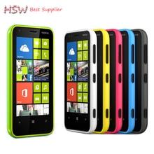 Первоначально прямые продажи разблокирована оригинальный nokia lumia 620 windows сотовый телефон 8 dual-core 1 ГГц 8 ГБ 5-мп камерой wifi gps мобильного телефона