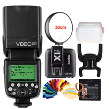 In Stock!!! Godox V860II F V860IIF Camera Flash Speedlite Strobe + X1TF Transmitter for Fujifilm with TTL HSS 1/3000 1/20000