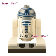 20pcs star wars superhero marvel R2D2 Robot building blocks action figure bricks model educational diy baby toys(China)