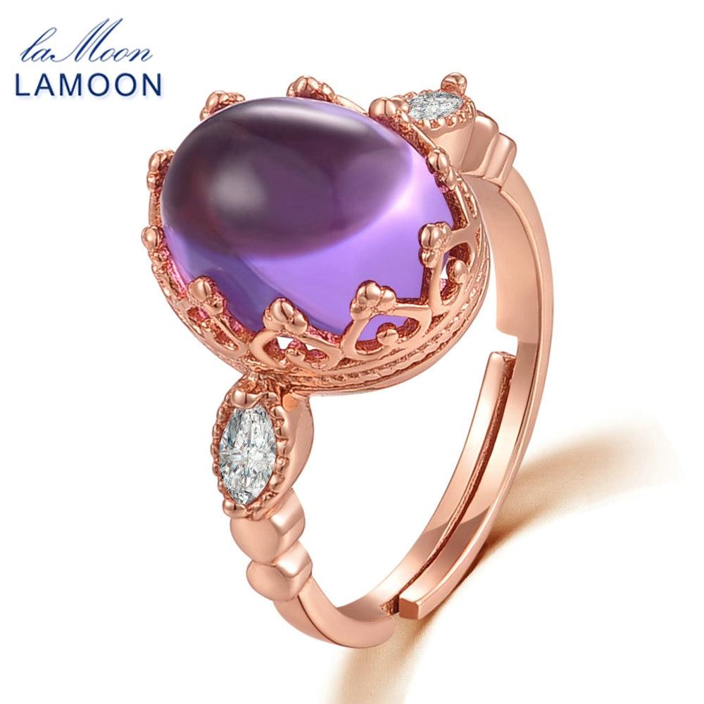 LAMOON 925 სტერლინგი - ლამაზი სამკაულები - ფოტო 3