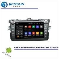 Yessun для Toyota Auris/Corolla Hatchback 2007 ~ 2012 CD DVD GPS плеер Радио стерео Мультимедиа Навигация WinCE /Android