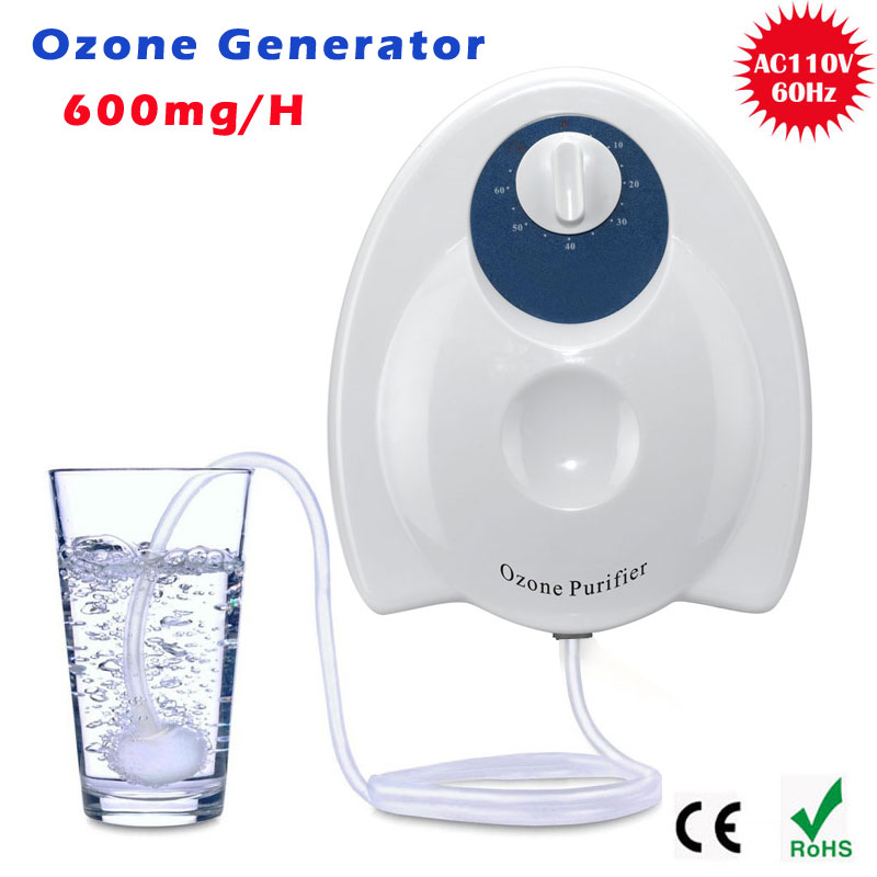 Ozone Generator Water  Water Purifying Sterilizing  Portable Oxygen Concentrator Generator  Gerador De Ozonio Ozonator 600MG he 141d formaldehyde 7g ozone generator household commerical ozone cleaner air purifying and sterilizing machine
