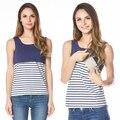 La Lactancia Materna y De Enfermería de Enfermería de maternidad Verano Tank Top y Cami Camiseta para Las Mujeres Embarazadas 2016 Nuevo Estilo