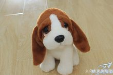 10 piece a lot Plush cute dog toy small long ears dog cute stuff doll about 20cm(China)
