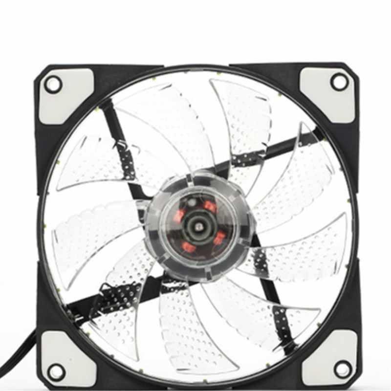 120mm LED-Ultra-Silent Computer PC Fall Fan 15 LEDs 12V Mit Gummi Ruhig Molex Stecker Einfach Installiert fan