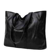 2017 New Simple Style Soft Leather Shoulder Bag Fashion Women Designer Large Capacity Handbags Female High