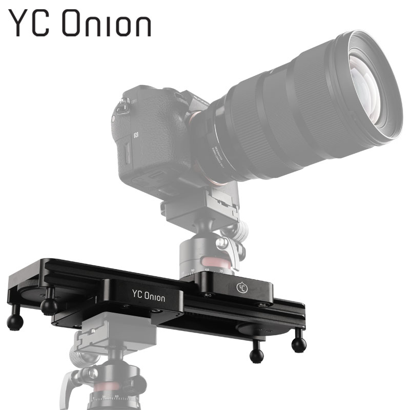 YC ONION Mini Camera DSLR Dolly Slider Portable Design Video Camera Track Slider With Adjustable Damping For Camera Phone Gopro цена