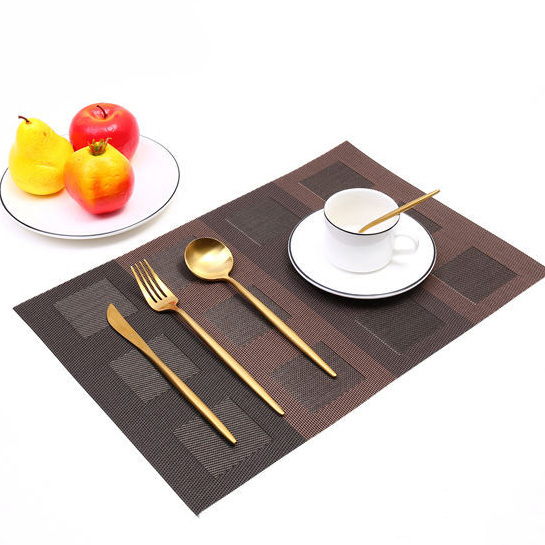 Placemat Table Mat Cup Bowl Mat Hotel Plate Pad European Waterproof And Oil-proof Hot Table Cloth Home Insulation Pad