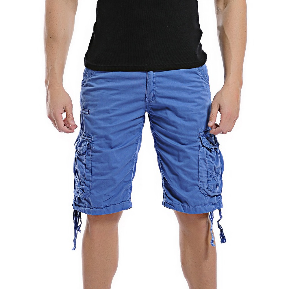 2018 New Cargo Shorts Men Camouflage Summer Hot Sale Cotton Casual Men Short Pants Brand Cloth Comfortable Men Cargo Shorts